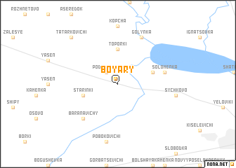 map of Boyary