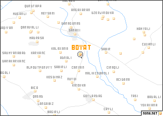 map of Boyat