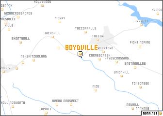 map of Boydville