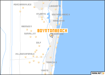 map of Boynton Beach