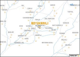 map of Böyük Əmili