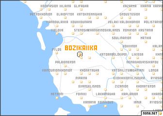 map of Bozikaíika