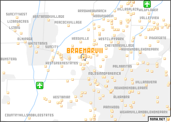 map of Braemar VII