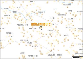 map of (( Brajakovići ))