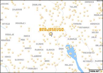map of Brajašev Do