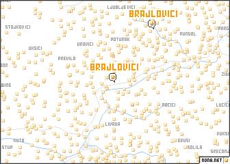 map of Brajlovići