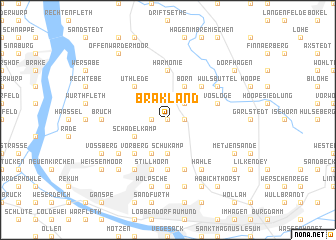 map of Brakland