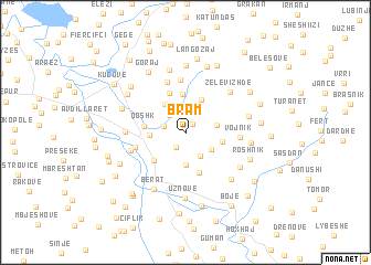 map of Bram