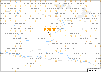 map of Brand
