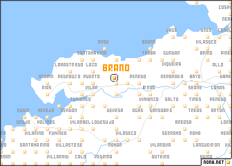map of Braño