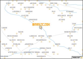 map of Braszczok