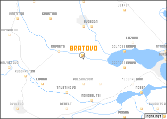 map of Bratovo