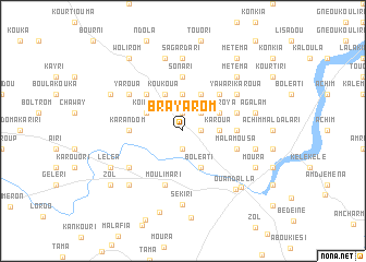 map of Brayarom