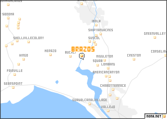 map of Brazos