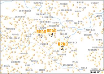 map of Brdo