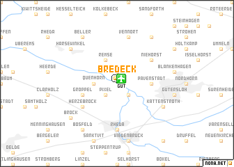 map of Bredeck
