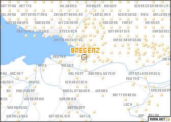 map of Bregenz