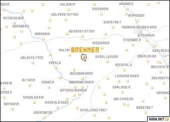 map of Brehmen