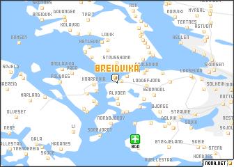 map of Breidvika