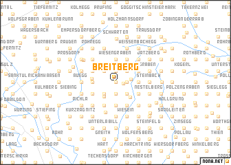 map of Breitberg