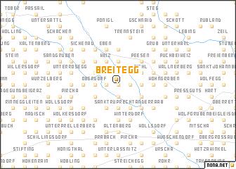 map of Breitegg