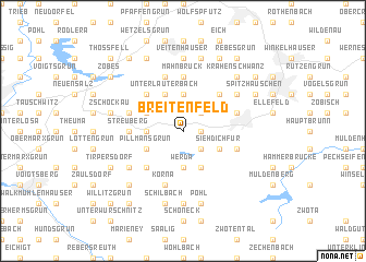 map of Breitenfeld