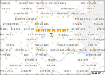 map of Breitenfurt-Ost