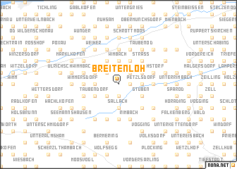 map of Breitenloh
