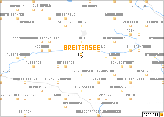 map of Breitensee