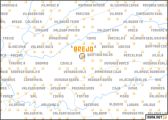 map of Brejo