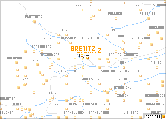 map of Brenitz