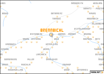 map of Brennbichl