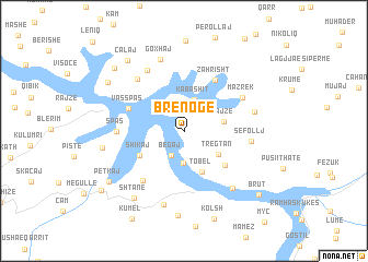 map of Brenogë