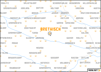 map of Bretwisch