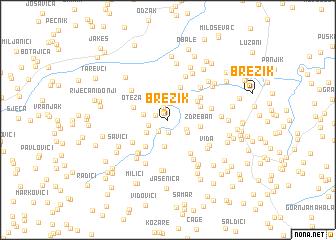 map of Brezik
