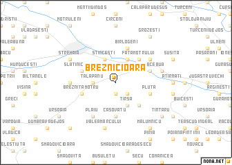 map of Breznicioara