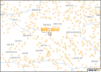 map of Brezovik