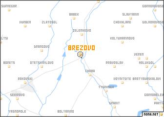 map of Brezovo