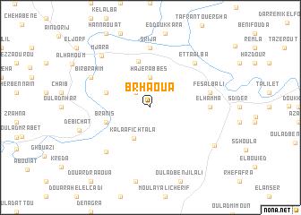 map of Brhaoua