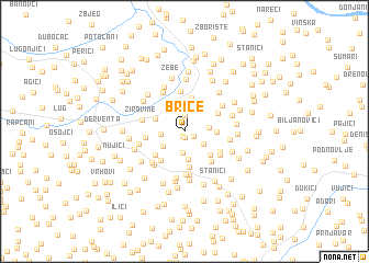 map of Brice