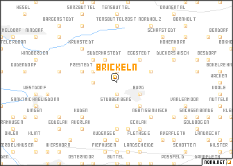 map of Brickeln