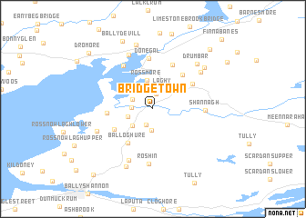 Bridgetown Ireland map nonanet