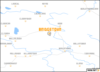 map of Bridgetown