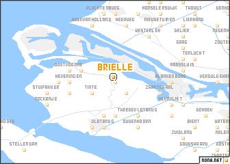 Brielle (Netherlands) map - nona.net