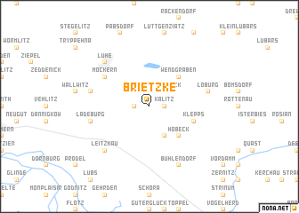 map of Brietzke