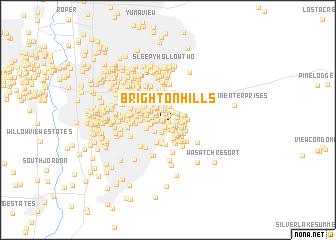 Brighton Utah Map.Brighton Hills United States Usa Map Nona Net