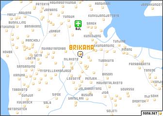 Brikama Gambia The map nonanet