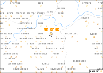 map of Brikcha