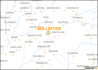 map of Brillantina