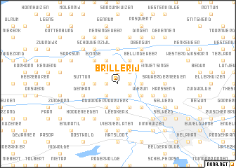 map of Brillerij